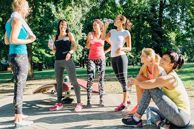 วิธีดูแลผิว หมั่นออกกำลังกาย