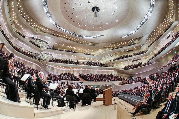 หอจัดแสดงดนตรี Elbphilharmonie