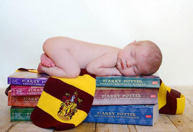 เด็กกับผ้าพันคอแฮร์รี่ พอตเตอร์