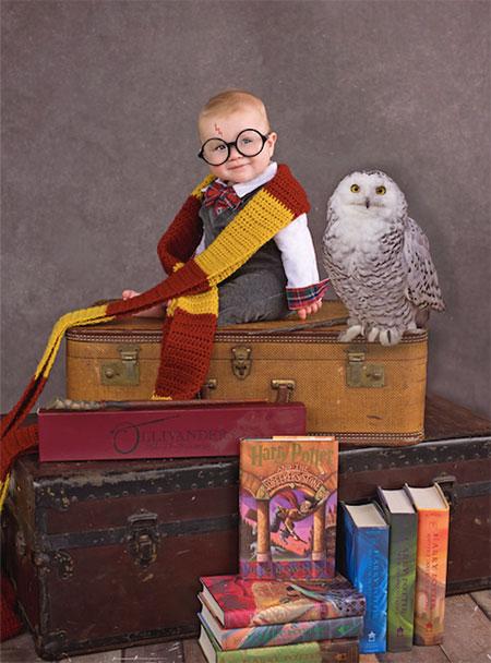 เด็กแต่งชุด Harry Potter
