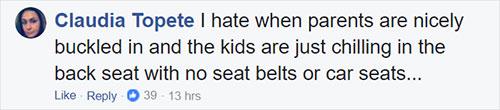 ให้ลูกนั่งคาร์ซีททุกครั้งที่โดยสารรถยนต์