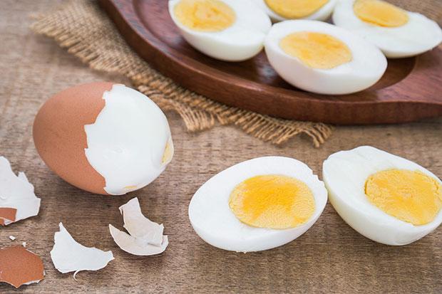 ไข่ต้มช่วยลดน้ำหนักได้ถึง 10 กิโลกรัม ใน 2 สัปดาห์