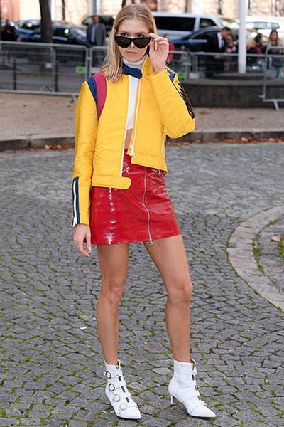Elena Perminova รองเท้า Kurt Geiger