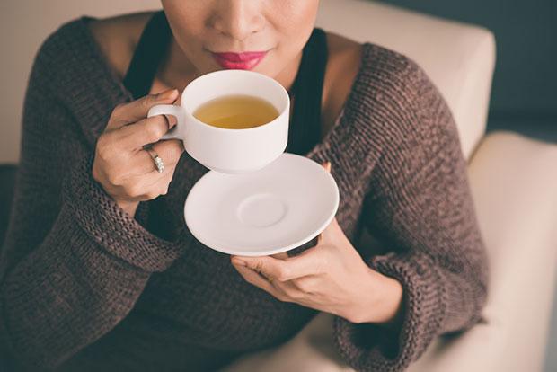 ดื่มชาคลายเครียดหลังเลิกงานคลายเครียดหลังเลิกงาน