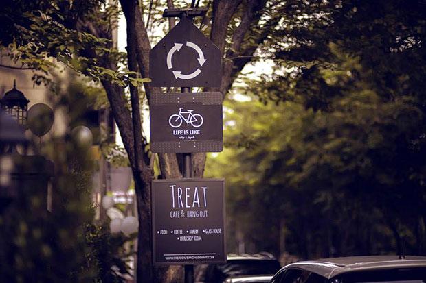 ร้านกาแฟ Treat Café & Hang Out
