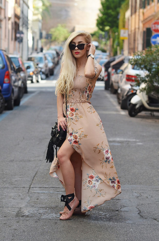 Tutaj Dress, Zara Shoes, Ash Bag, Moschino Sunglasses, Daniel Wellington Watch