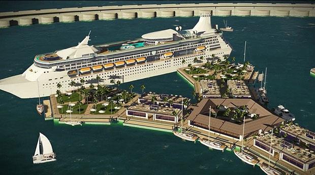 เมืองลอยน้ำแห่งแรกของโลกในมหาสมุทรแปซิฟิก