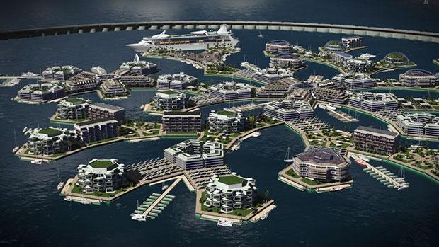 เมืองลอยน้ำแห่งแรกของโลก