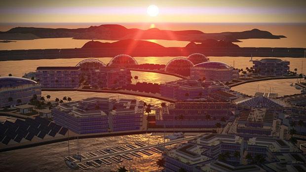 เมืองลอยน้ำแห่งแรกที่จะปรากฏในมหาสมุทรแปซิฟิก