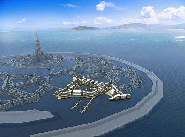 เมืองลอยน้ำในมหาสมุทรแปซิฟิก