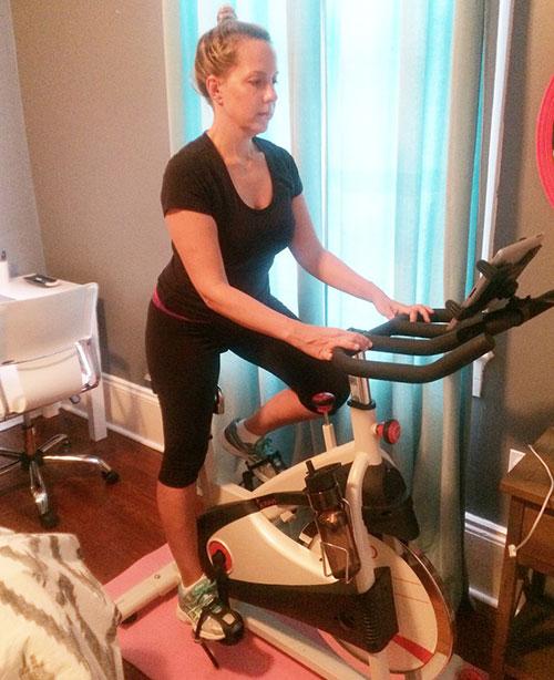 DIY จักรยานออกกำลังกาย
