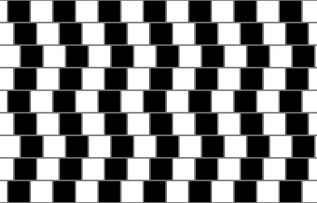 ภาพลวงตาที่พิสูจน์ว่าสมองก็เล่นตลกได้