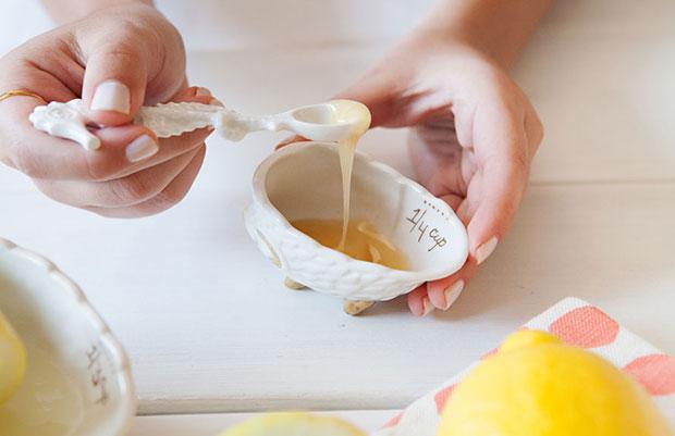 มาสก์หน้าสูตรน้ำผึ้งมะนาวฉบับโฮมเมด