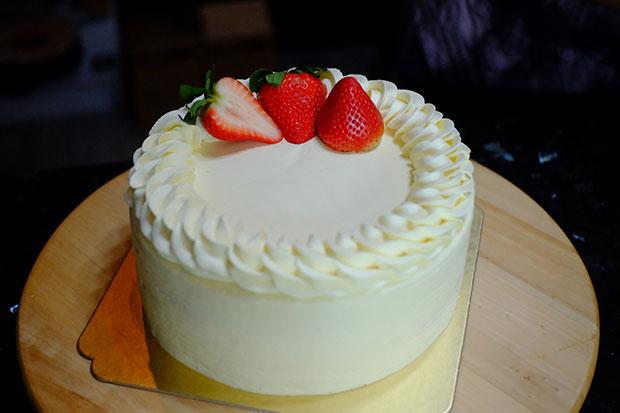 สตรอเบอรี่ช็อทเค้ก
