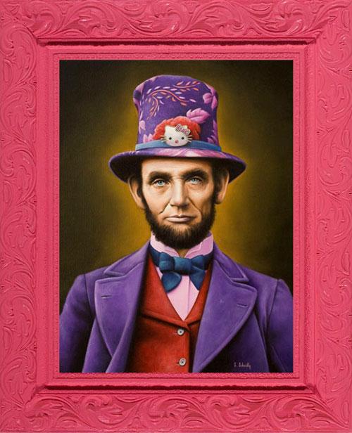 อับราฮัม ลินคอล์น โลกสีชมพู