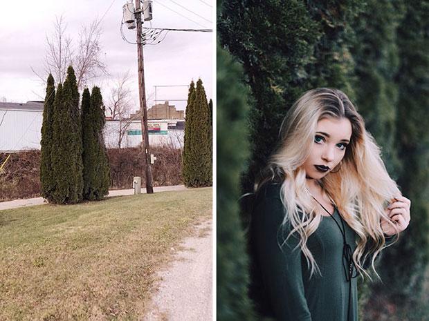 เปลี่ยนต้นไม้ให้กลายเป็นมุมถ่ายรูปสวยๆ