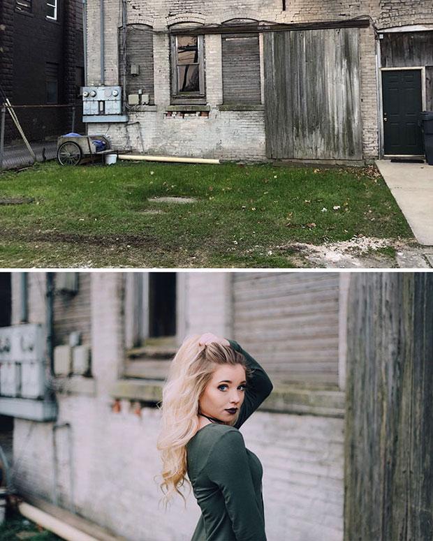เปลี่ยนบ้านร้างให้กลายเป็นมุมถ่ายรูปสวยๆ