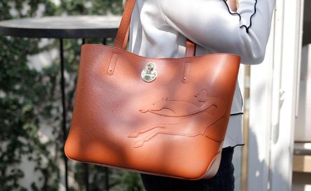 กระเป๋ารุ่น Shop It สี Sienna