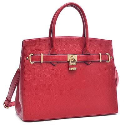 กระเป๋า Dasein Padlock Satchel Handbag