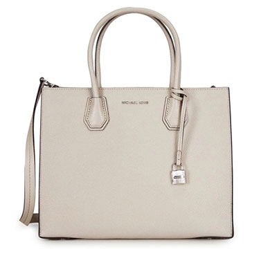 กระเป๋า Michael Kors Studio Mercer Cement Large Convertible Tote Bag