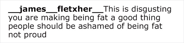 ความเห็นในแง่ลบเกี่ยวกับเรื่องอ้วน