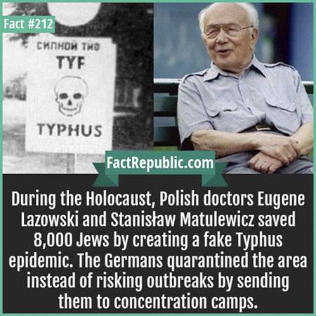ช่วยชีวิตชาวยิวโดยการกุเรื่องไข้รากสาดใหญ่
