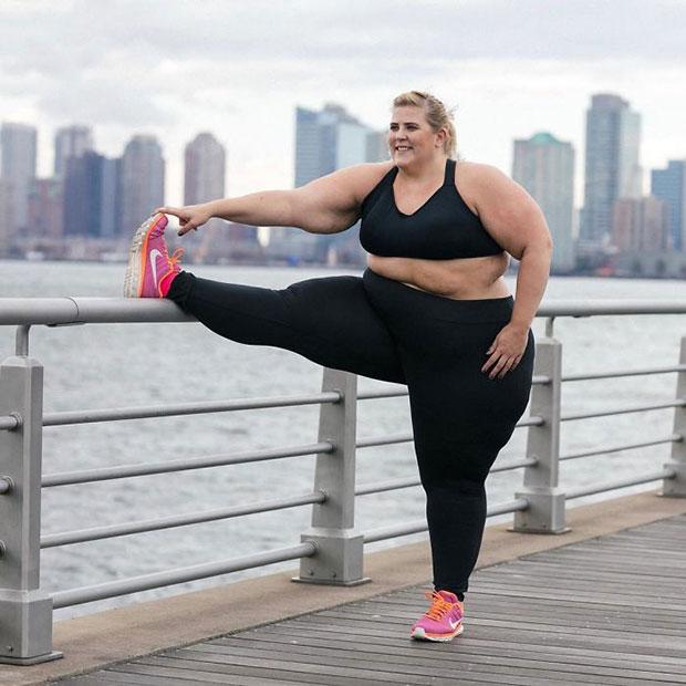 นางแบบไซส์พิเศษกับแฟชั่นชุดออกกำลังกายที่กลายเป็นกระแส
