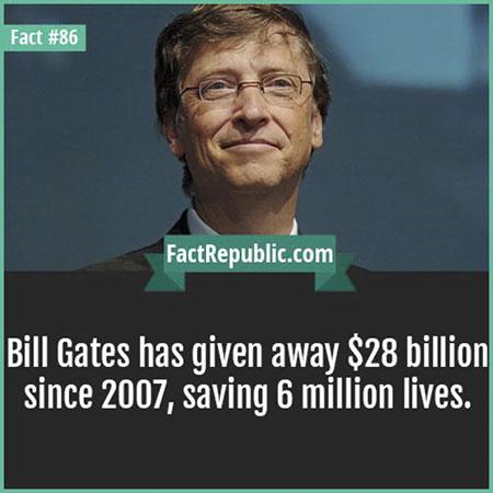 บิลล์ เกตส์บริจาคเงินหลายล้าน