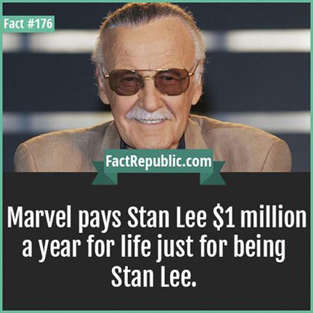มาร์เวลจ่ายเงินให้สแตน ลี