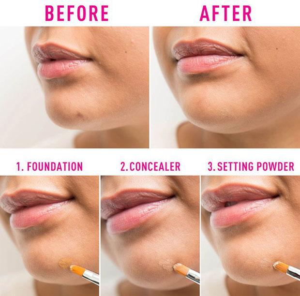 วิธีใช้ Concealer Brush