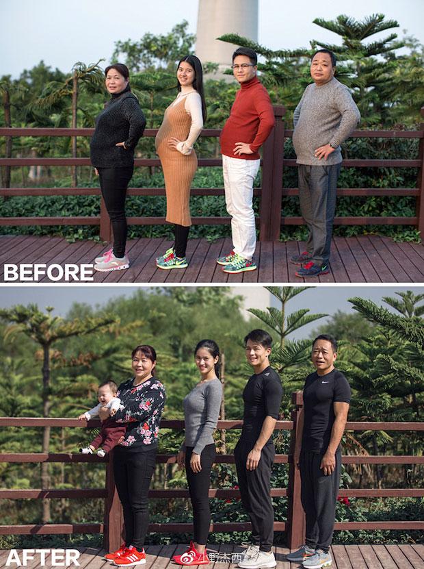 ออกกำลังกายนาน 6 เดือนจนหุ่นดี