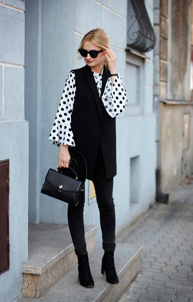 เสื้อกั๊ก Zara, เสื้อ Romwe, กางเกงยีนส์ Topshop, นาฬิกา Albert Riele, รองเท้าบู๊ท Stradivarius