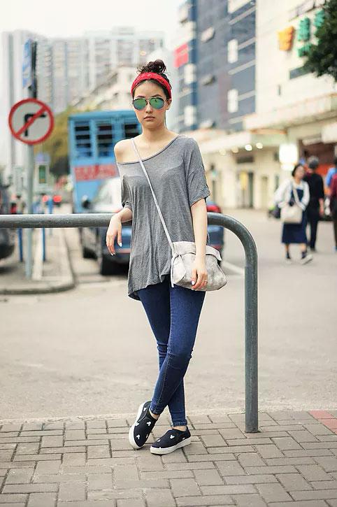 American Eagle Tops, H&M Jeans, Natural Shop Shoes, Zara Sunglasses