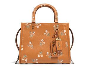 Floral Bow Print Rogue Bag
