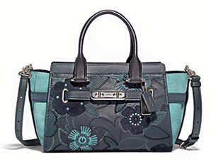 Patchwork Tea Rose Coach Swagger
