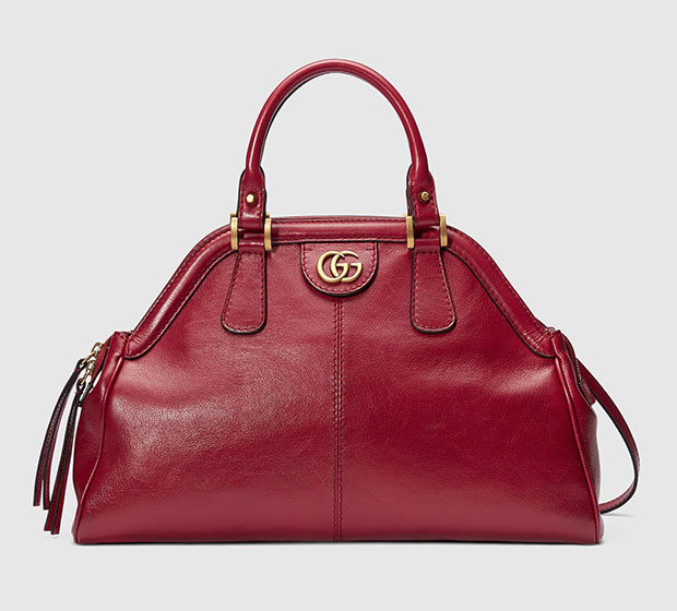กระเป๋าหิ้วขนาดกลาง Gucci