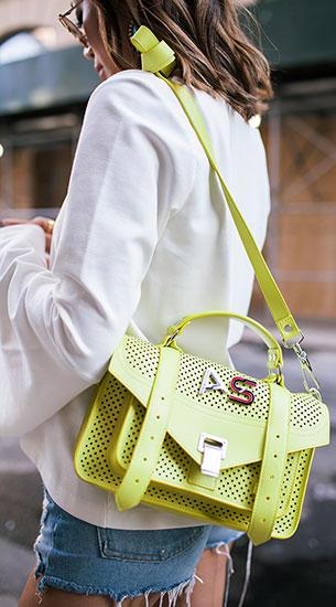 กระเป๋า Proenza Schouler Semi Formal Look