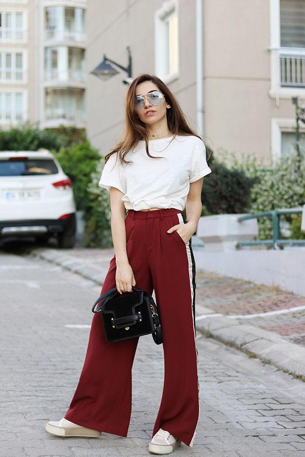 by Melike Gül. เสื้อยืด Mango, กางเกง Romwe, รองเท้า Derimod, แว่นตากันแดด  Romwe, กระเป๋า Zaful. Mango T Shirt ... f92a070d4ef9
