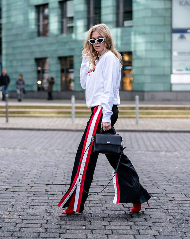Wrstbhvr Sweater, Stradivarius Pants, Aldo Heels, Karl Lagerfeld Bag, Asos Sunglasses