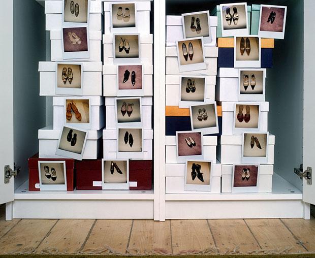 กล่องรองเท้าติดภาพถ่าย