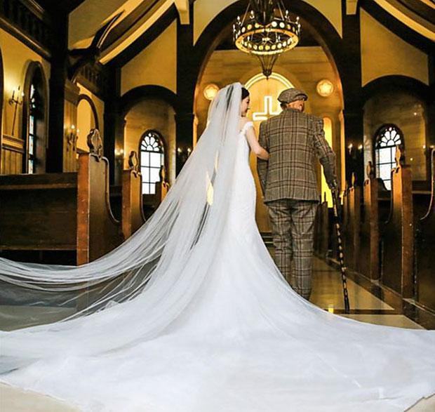ถ่ายภาพแต่งงานกับคุณปู่