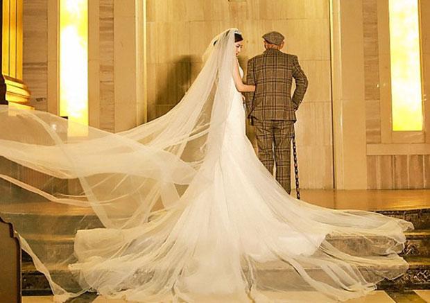 ถ่ายภาพแต่งงานกับปู่