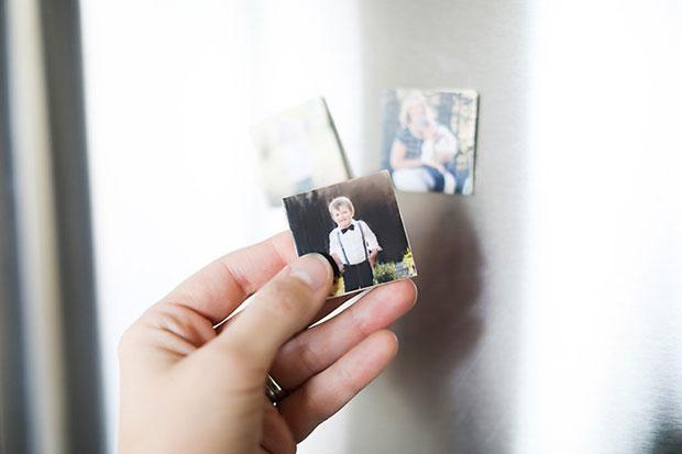ภาพถ่ายแม่เหล็กติดตู้เย็น