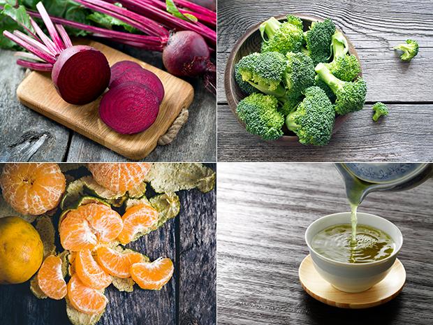 อาหารที่ดีท็อกซ์สารพิษในร่างกายและบำรุงตับ