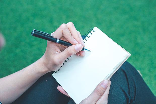 รูปแบบการเขียนเพื่อบำบัดสุขภาพจิตด้วยตัวเอง