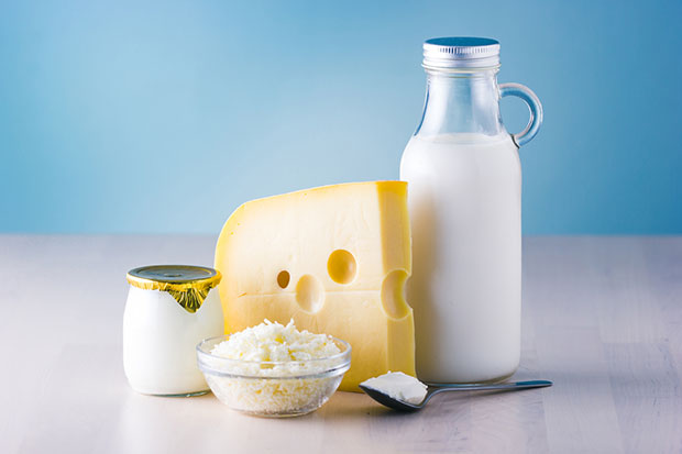 หน้าใสไร้สิวเมื่อหยุดทานผลิตภัณฑ์ที่ทำจากนม