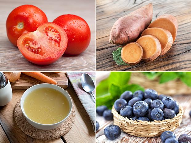 อาหารที่ทำให้ผิวพรรณเปล่งปลั่งอย่างเป็นธรรมชาติ