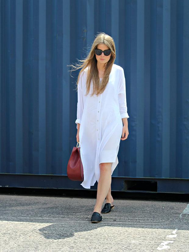 เดรส New Look, รองเท้า New Look, กระเป๋า Zara, แว่นตากันแดด Asos