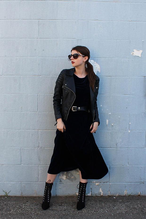 H&M Jacket, H&M Boots, Asos Belt