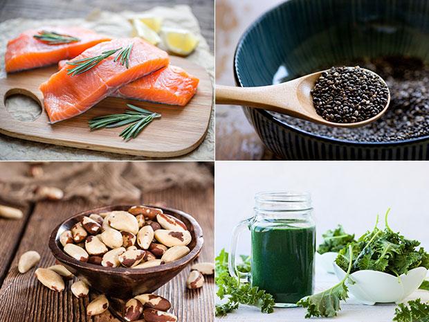 อาหารสู้สิวเพื่อผิวพรรณมีออร่า